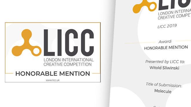 Honorowe wyróżnienie w międzynarodowym konkursie LICC